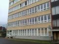 16. Kollégium épület nyugati homlokzat ablakcsere