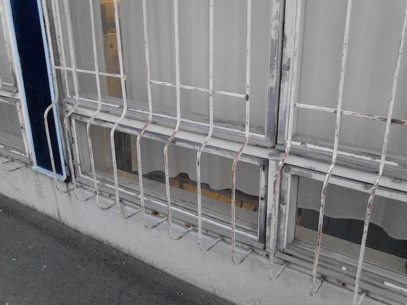 4. Iskola déli homlokzat régi ablakok